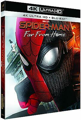 Spider Man Far From Home Blu Ray 4K Ultra Hd   Neuf Sous Cellophane
