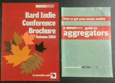 MUSIC WEEK Magazine - Bard Indie Conference 2005 & Industry Guide to Aggregators