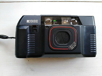 Vintage RICOH TF-500 Point & Shoot 35mm Camera with Zoom Lens