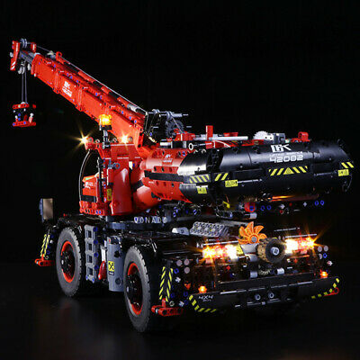 Vonado LED Light Building Block Accessory Kit for Lego Rough Terrain Crane 42082
