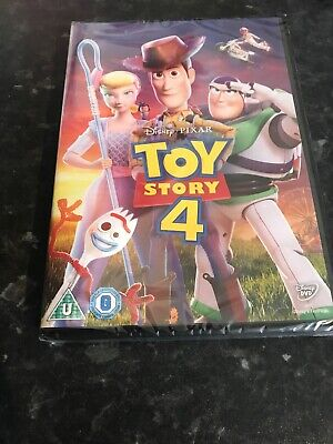 Toy Story 4 DVD Brand New