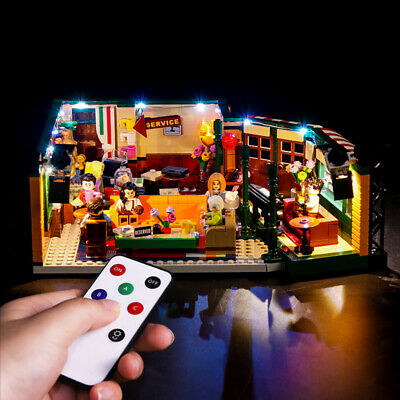 Vonado LED Light Building Block Modified Kit with Remote Control for Lego 21319