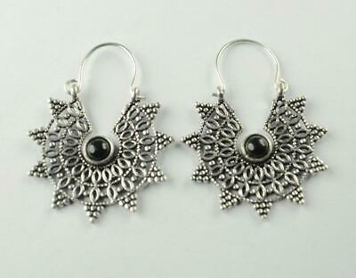 Antique Designer 925 sterling silver Plated Ethnic jewellery Earring ER1199