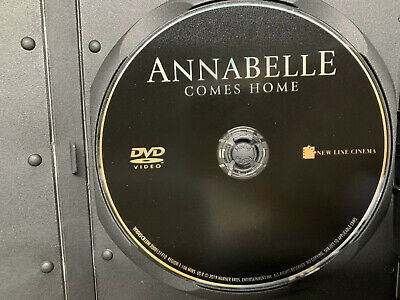 Annabelle Comes Home 2019 DVD Only Never Been Used Ships In Slim Cd Case