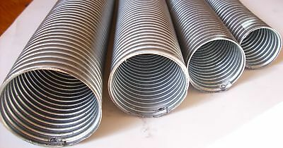 """25mm 1""""  ID  29mm OD Flexi Pipe Tube 1 Metre Exhaust Flexible Excellent Quality"""