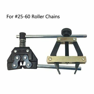 #25-60 Roller Chain Holder Puller&Breaker Cutter for Bicycle Chains Replacements