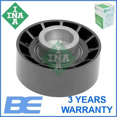 CITROEN DISPATCH 120 2.0D Aux Belt Idler Pulley 2007 on Guide Deflection INA