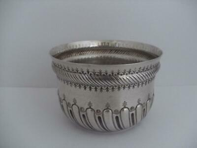 Beautiful Victorian Solid Silver Bowl London 1883