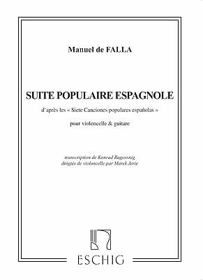 Suite Populaire Bresilienne Sheet Music Guitar Solo Editions Durand Bo 050564794