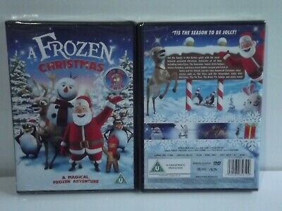 A Frozen Christmas [DVD] NEW SEALED SENT 1ST CLASS POST FREE IN UK..!