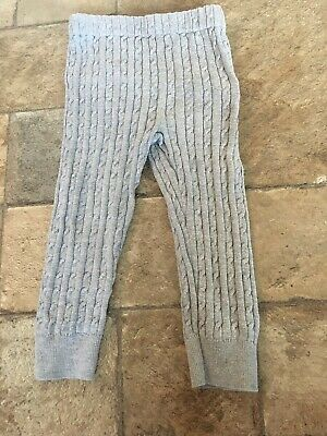 Baby Gap Girls Cable Knit Leggings Size 2 Years