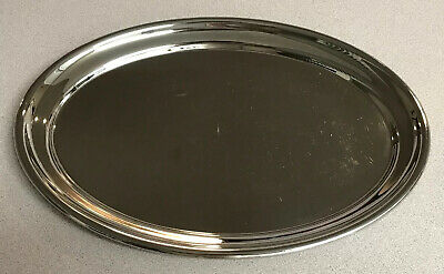 Antique WMF German Silver Plate Platter Serving Tray Early 1900's