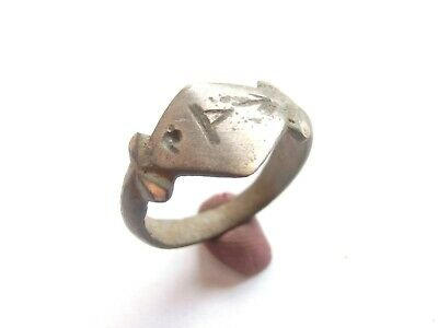 GREAT SAVE Viking Era Billon Ring with ***THOR*** Runic - Ancient Warriors relic