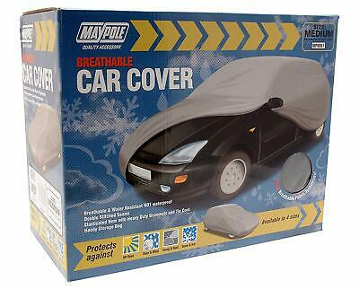 Maypole Breathable Water Resistant Car Covers - Medium