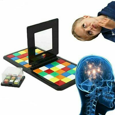 New 2019 Magic Block Game Rubik's Battle Race Puzzle Cube 3D Kids Christmas Gift