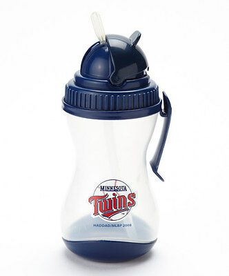 Minnesota Twins Sipper with Belt Clip & Silicone Straw NWT