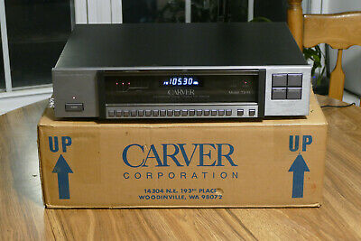 Carver TX-11 Stereo Tuner - With box - Looks & works Great