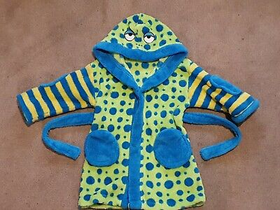 Boys MINI MODE Dressing Gown Age 9-12 Months