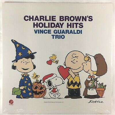 Vince Guaraldi Charlie Brown's Holiday Hits LP Vinyl New Thanksgiving Christmas