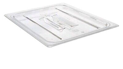 Box of 6 Cambro 20CWCH135 Clear Food Pan Cover 1/2 Size With Handle NOS