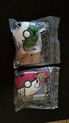 McDonald's 2019 Pokemon Happy Meal Toy #3 and #8