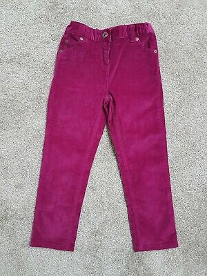 John Lewis burgandy/berry cord trousers age 5