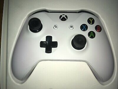 Microsoft Xbox One Wireless Controller White Official with 3.5mm Jack