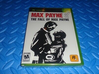 Max Payne 2: The Fall of Max Payne (Microsoft Xbox, 2003) *Brand New