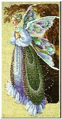 "COMPLETE CROSS STITCH MATERIALS - ""FAIRY GRANDMOTHER"" BY Lavender and Lace"
