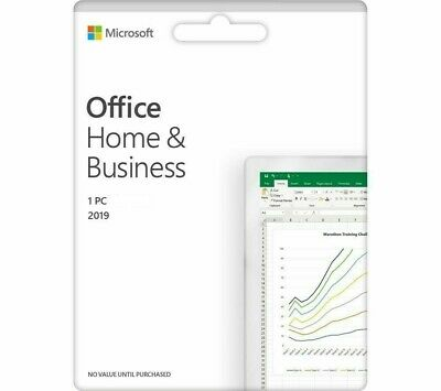 Microsoft Office Home & Business 2019 (PC/Windows) - Genuine License Key