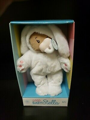 """Manhattan Toy Wee Baby Stella 12"""" Soft Baby Doll with Bunny Suit"""
