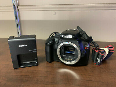 Canon Eos Rebel T3 12.2Mp Digital Slr Camera + Charger W/Free Shipping