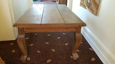 Very Old/ Antique Wooden Farmhouse/Kitchen Dining Table
