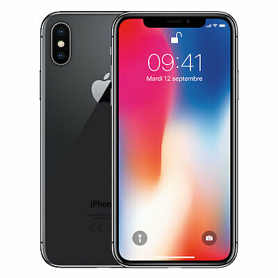 Apple iPhone X - 64GB - Space Gray (Unlocked) A1901 (GSM)