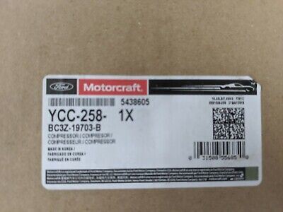 Stripped Chassis MOTORCRAFT YCC-258 A//C Compressor and Clutch-Motor Home