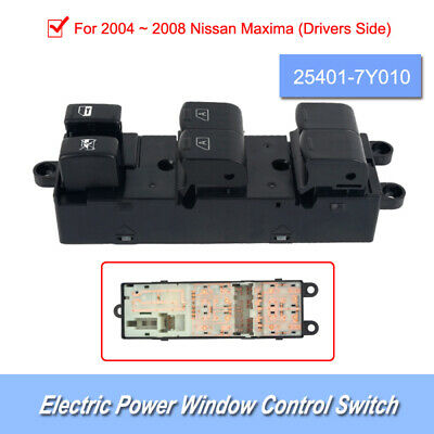 25401-7Y010 Stable Master Window Lifter Button Suit for 2004-2008 Nissan Maxima