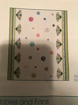 Bubbles And Fans Quilt Kit Brand New