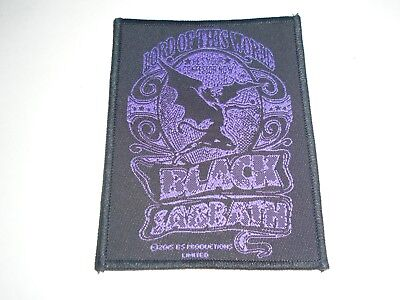 Black Sabbath Lord Of This World Woven Patch