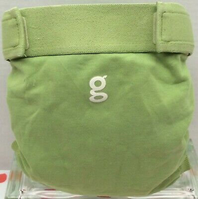 Gdiapers Large Guppy Green Gpants & Pouch