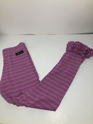 Matilda Jane Paint By Numbers Icing Ruffled Leggings Size 14 Pink