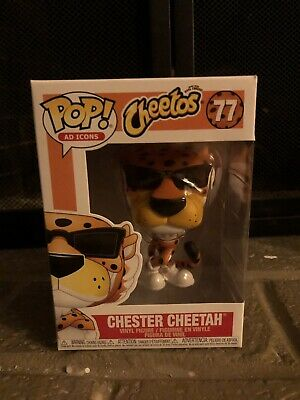 Funko Pop! Ad Icons Cheetos Chester Cheetah W/ Protector #77 In Hand Mint