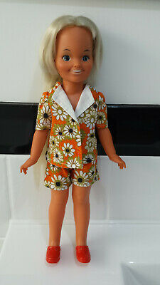 Vintage Ideal - 1971 - Dina Doll  - Crissy Family in good condition