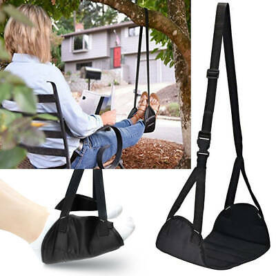 Airplane Footrest Foot Carry Plane Leg Pillow Rest Hammock Portable Travel Pad