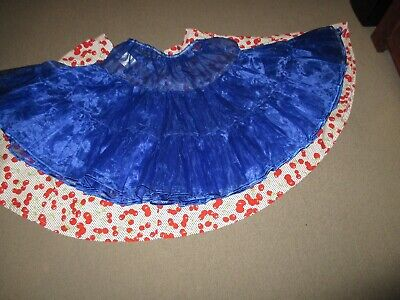 Spin Dance Vintage Collection Gorgeous Blue Petticoat Size Standard 60 cm - 105