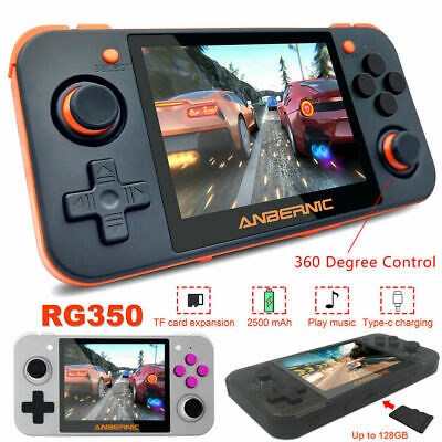 """3.5"""" RG350 IPS Handheld Game Console Portable Video Game Player+32GB Memory Card"""
