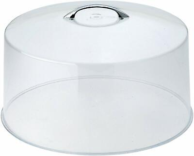 CKS-13C Round Acrylic Cake Stand Cover, 12-Inch, Clear