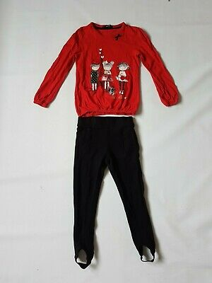 Girls ~ Next & George Outfit ~ Size 5-6 Years ~ Vgc ~ Ref Box A6