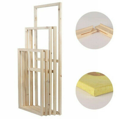 DIY Wooden Canvas Stretcher Bars Frames Strip For Print Oil Painting Art 20-70CM