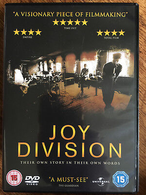 Joy Division DVD 2007 Británico Rock Pop / Ian Curtis Documental Película de
