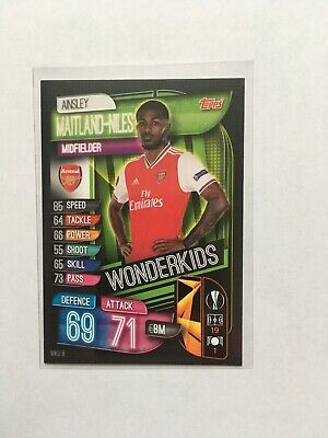 Match Attax 2019 - 20 Wonderkids Card  Ainsley Maitland Niles  Arsenal